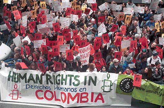 Colombia: situación de los Derechos humanos – AFD International